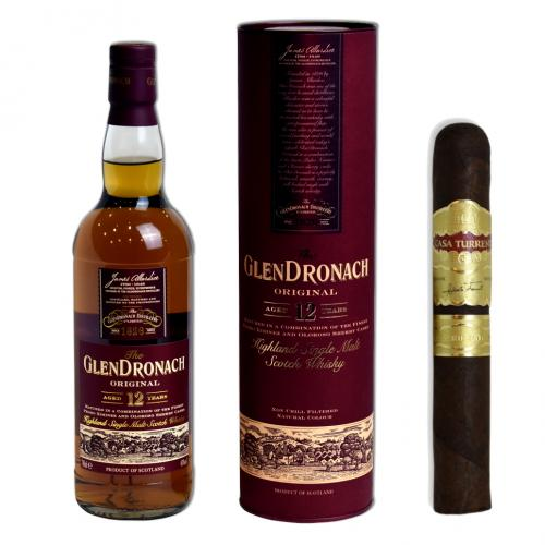 Cigar of the Week - Casa Turrent 1901 Maduro Robusto + Glendronach Whisky Pairing