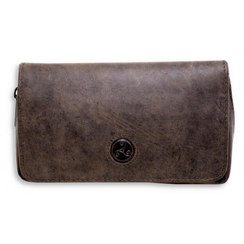Rattrays Peat CP2 Combination Leather Tobacco Pouch