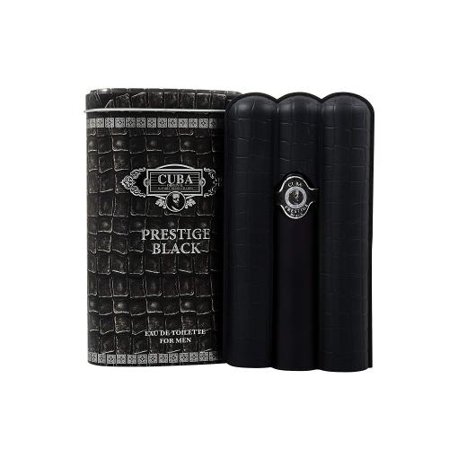 Cuba Prestige Black Eau de Toilette Spray for Him 90 ml