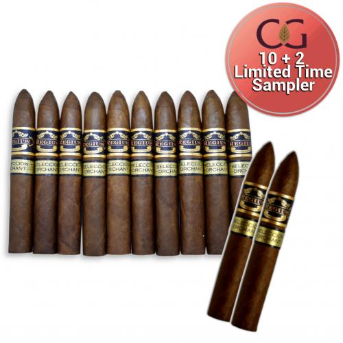 LIMITED TIME SAMPLER - 10 + 2 Regius Seleccion Orchant 2019 Campanas - 12 Cigars