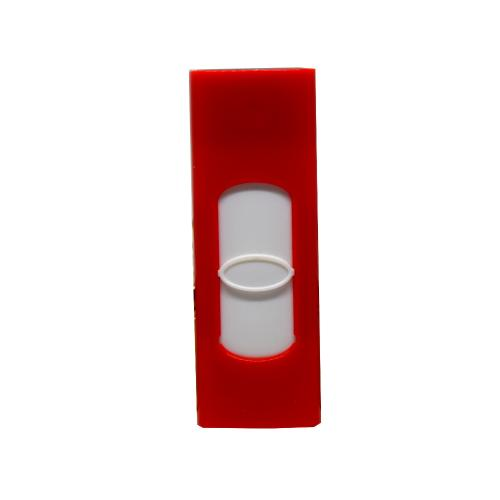 Champ Trendy USB Red Plastic Cigarette Lighter