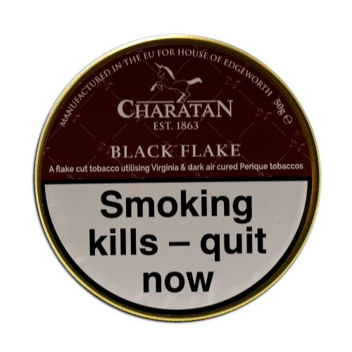 Charatan Black Flake Pipe Tobacco