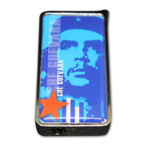 Che Guevara Camouflage Soft Flame Lighter - Blue