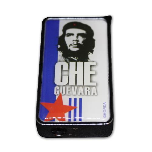 Che Guevara Camouflage Soft Flame Lighter - White