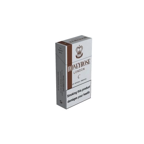 Honeyrose London C Flip Top - 20 Packs of 20 Herbal cigarettes (400)