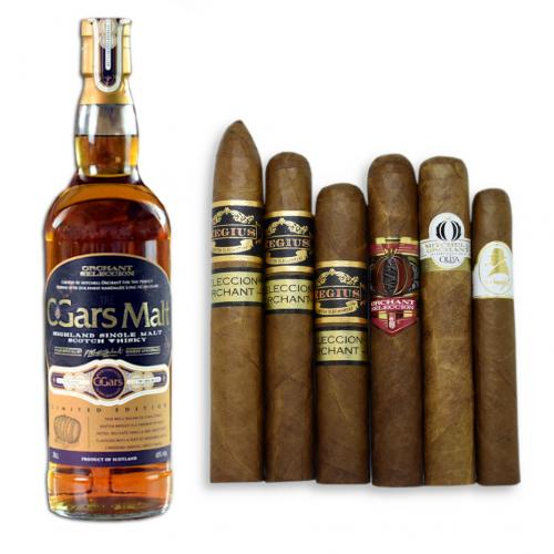 Orchant Selection Cigar Malt and Exclusive Cigar Selection Pairing
