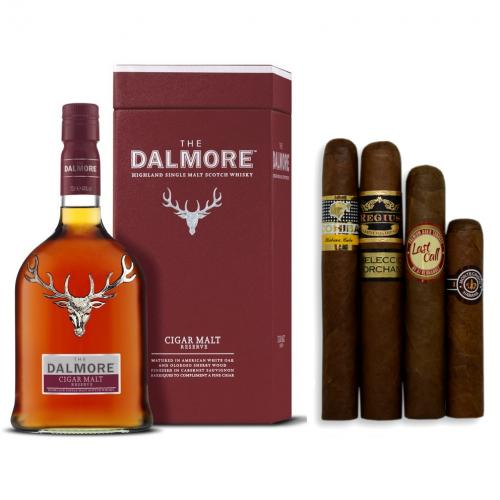 Dalmore Cigar Malt Reserve Single Malt Scotch Whisky + Cigar Selection Pairing