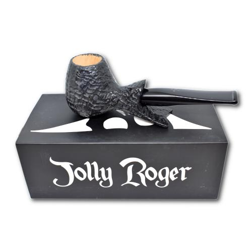 Jolly Roger Clippertor Sandblast Straight Dark Pipe