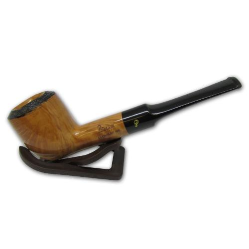 Peterson Clontarf Natural Briar Smooth Straight 106 Fishtail Pipe (G1160)