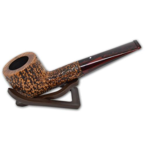 Alfred Dunhill Pipe – The White Spot County Straight Pot Pipe (4106)
