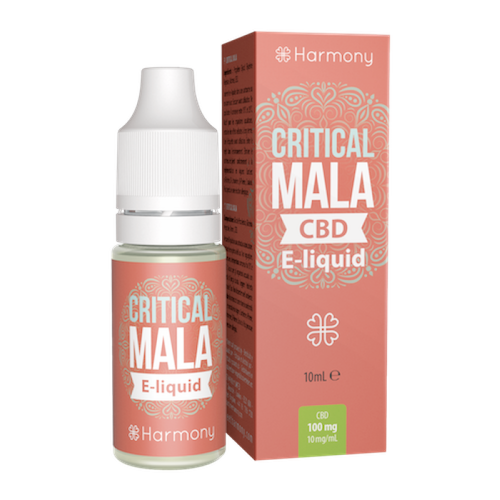 Harmony CBD E-Liquid 30mg Critical Mala - 10ml