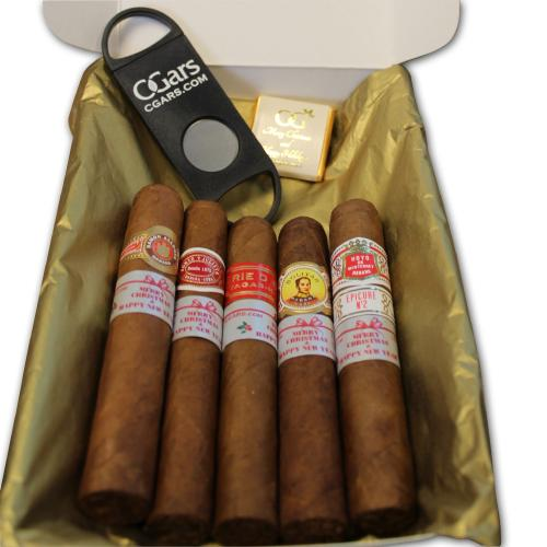 Merry Christmas Cuban Selection Gift Box Sampler