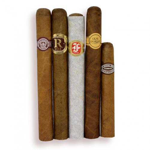 Cuban Selection and Humi Pouch Sampler - 5 Cigars