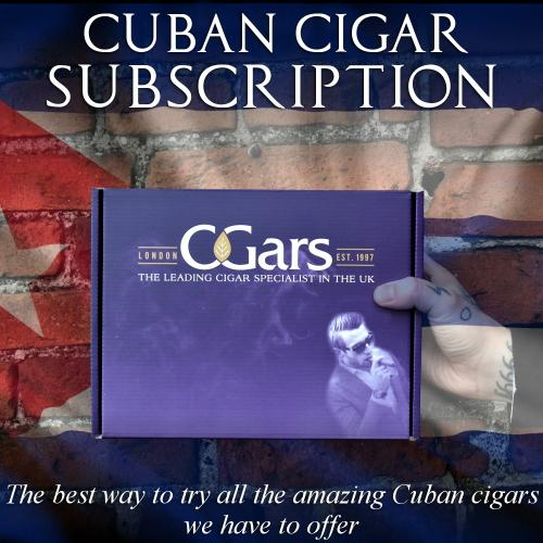 Monthly CUBAN CIGAR Subscription