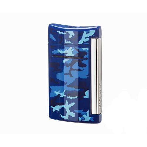 ST Dupont Lighter - Minijet - Blue Camouflage