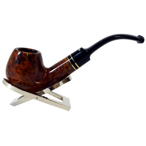 Dr Plumb Statesman 9mm Filter Fishtail Briar Pipe (DP054)