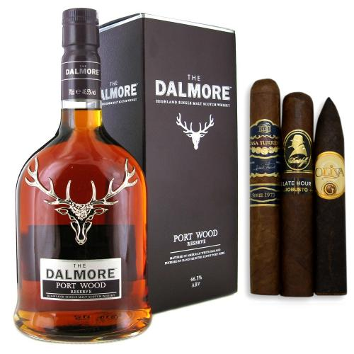 Dalmore Port Wood Reserve Single Malt Scotch Whisky + Cigar Selection Pairing