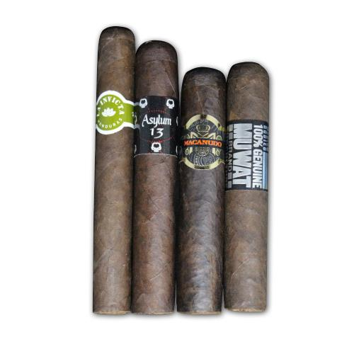 Dark New World Mixed Sampler - 4 Cigars