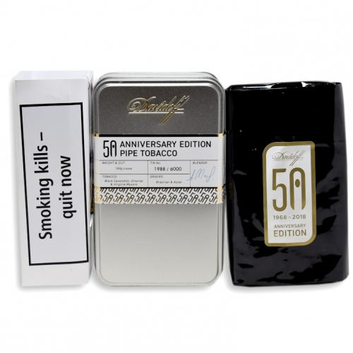 Davidoff Limited Edition 50 Years Pipe Tobacco - 100g Tin