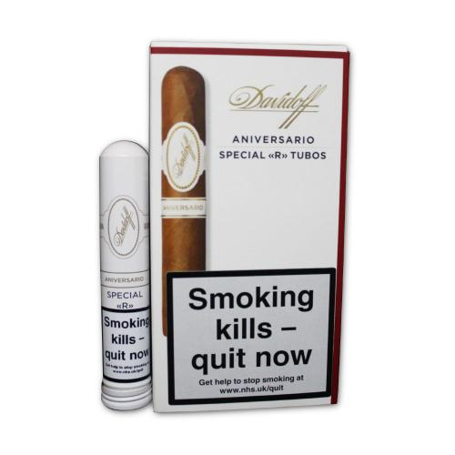 Davidoff Special \'R\' Tubos Cigar - Pack of 3
