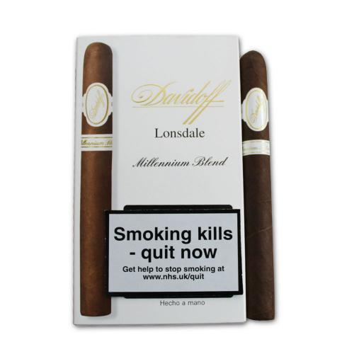 Davidoff Millennium Lonsdale Cigar - Pack of 5 cigars (Discontinued)