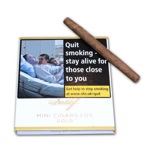 Davidoff Mini Cigarillos - Gold - 10 x Packs of 10