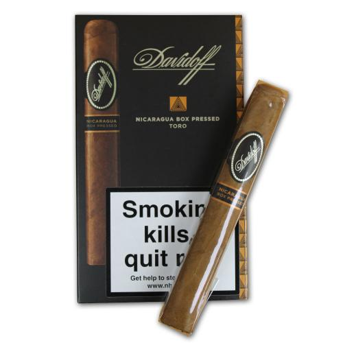 Davidoff The Nicaraguan Experience - Toro Box Pressed Cigar - Pack of 4