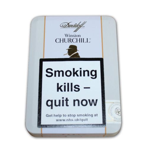 Davidoff Winston Churchill Petit Panetela Cigar - Tin of 5