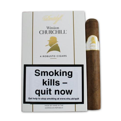 Davidoff Winston Churchill Robusto Statesman - Pack of 4