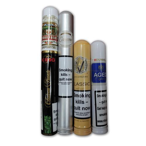 Dominican Tubed Selection Sampler - 4 Cigars