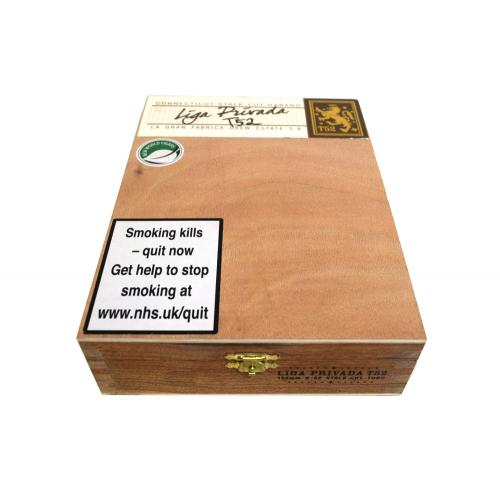 Empty Drew Estate Liga Privada T52 Cigar Box
