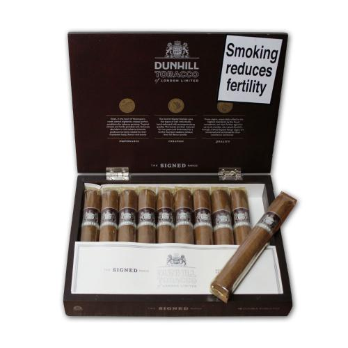 Dunhill Signed Range Double Robusto Cigar - Box of 10 - Discontinued