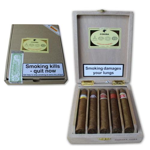 EMS Seleccion Piramides Cigar Gift Case - 5 Piramides Cigars (Vintage 2013)
