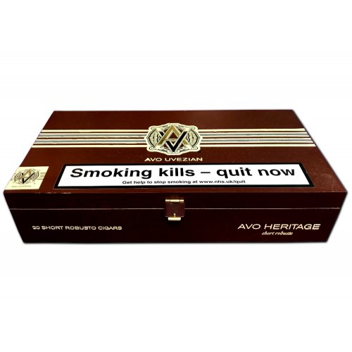Empty Avo Heritage Short Robusto Cigar Box