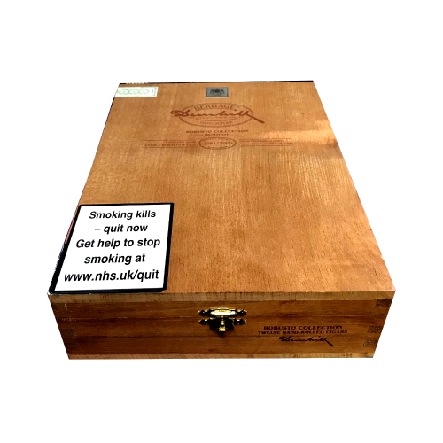 Empty Dunhill Heritage Robusto Collection Box/Humidor