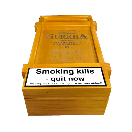 Empty Ghurka Celler Reserve Perfecto Koi Cigar Box