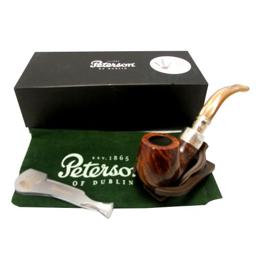Peterson Spigot Flame Grain Champagne Pipe - 221