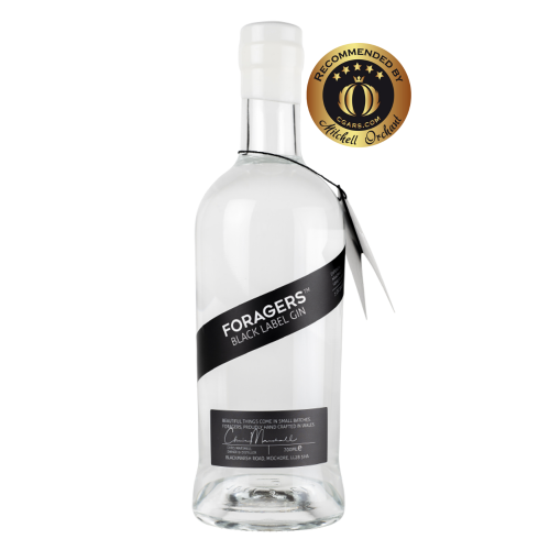 Foragers Black Label Gin - 46% 70cl - CHRISTMAS GIFT