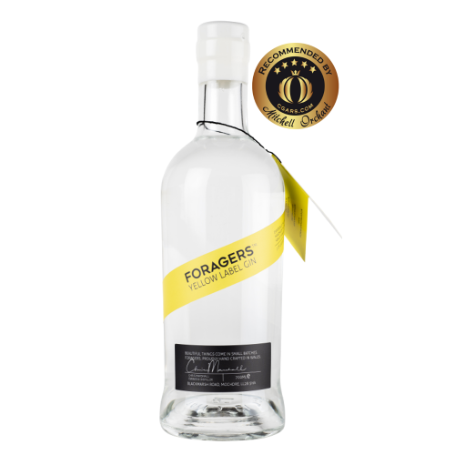 Foragers Yellow Label Gin - 42% 70cl - CHRISTMAS GIFT