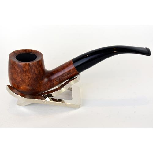 Great British Classic Pipe Smooth Bent Billiard (GB005)