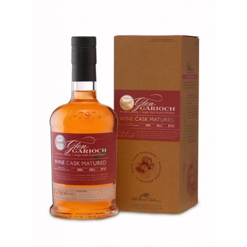 Glen Garioch 15 Year Old 1998 Wine Cask Matured 70cl, 48.0%