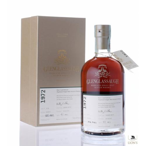 Glenglassaugh 41 Year Old 1972 (cask 2114) - 70cl, 50.6%