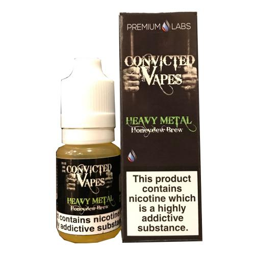 Convicted Vapes - Heavy Metal - 3 x 10ml 3mg