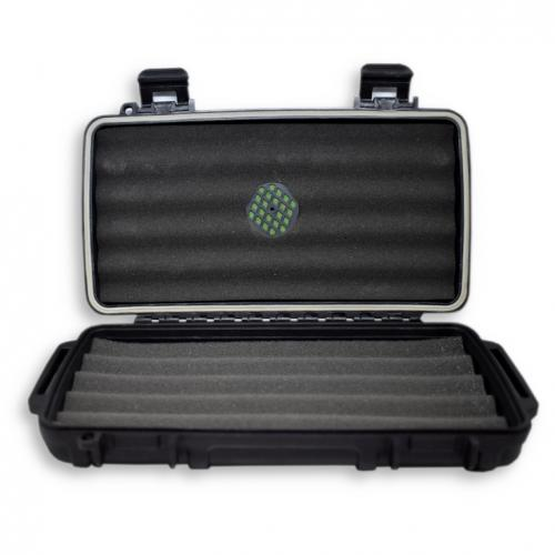 C.Gars Ltd Crushproof Travel Cigar Humidor Case X5 – 5 Cigar Capacity