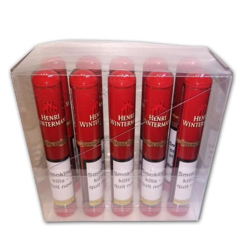 Henri Wintermans Tubed Coronas Deluxe Sumatra - Pack of 10 cigars