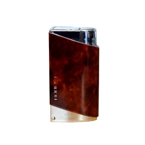 Honest G4 Brown Burl Jet Lighter