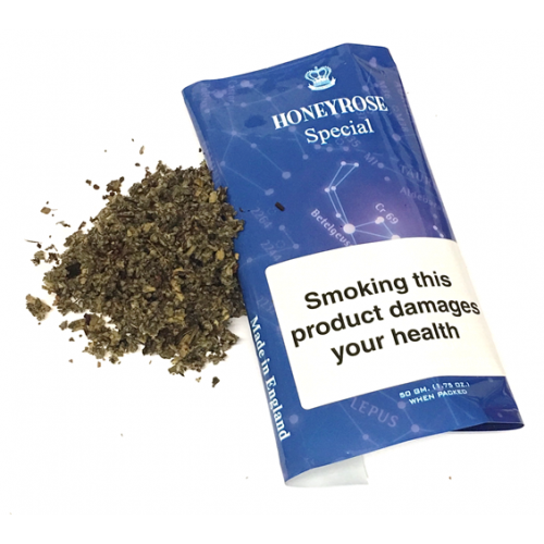 Honeyrose Special Herbal Mixture Herbal Smoking Tobacco (Tobacco free) 50g Pouch