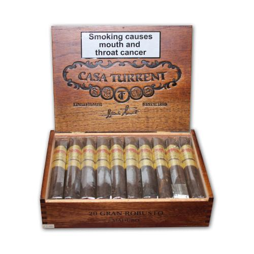 Casa Turrent 1901 Maduro Gran Robusto Cigar - Box of 20