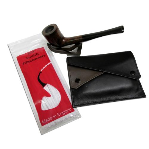Budget Briar Pipe and Accessories Sampler