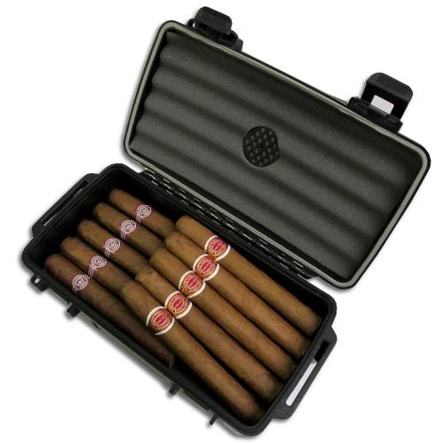 Montecristo No. 4 and Romeo y Julieta Petit Corona Crushproof Case Sampler